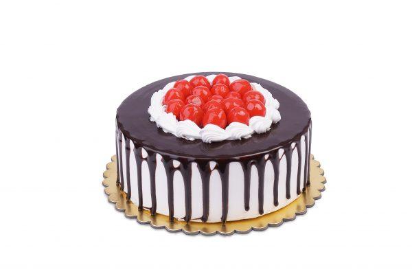 Chocolate-Truffle Cherry Cake